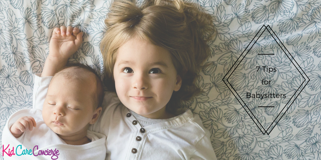 7 Tips for babysitters